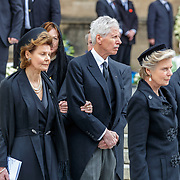LUX/Luxemburg/20190504 -  Funeral<br /> of HRH Grand Duke Jean, Uitvaart Groothertog Jean, Prinses Margaretha en Prins Nikolaus van Liechtenstein en Aartshertogin Marie Astrid van Oostenrijk en aartshertog Carl Christian van Oostenrijk