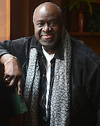 Dallas actor Akin Babatunde at Southside Lamar lofts in Dallas, Texas on January 24, 2013...Robert W. Hart/Special Contributor
