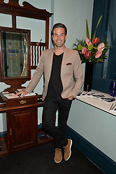 GETHIN JONES at the launch of Give Me Sport Magazine held at Library, 112 St.Martin's Lane, London on 30th July 2014.