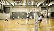 Belo Horizonte_MG, Brasil...Treino da equipe de volei feminino do Minas Tenis Clube em Belo Horizonte, MInas Gerais...Training of the Minas Tenis Club women's volleyball team in Belo Horizonte, Minas Gerais...Foto: BRUNO MAGALHAES / NITRO