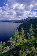 View from the Rubicon Trail, D.L. Bliss State Park, Lake Tahoe, California
