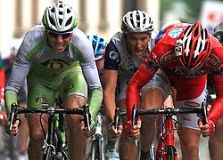 Jure Kocjan of Slovenia (Perutnina Ptuj) in last sprint in 4th stage of the 15th Tour de Slovenie from Celje to Novo mesto (157 km), on June 14,2008, Slovenia. (Photo by Vid Ponikvar / Sportal Images)/ Sportida)