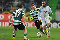 20111201: LISBON, PORTUGAL Ð UEFA Europe League 2011/2012 Group D: Sporting Lisbon vs FC Zurique.<br />In picture .Yassine Chikhaoui<br />PHOTO: CITYFILES