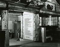 1943 Looking at the entrance to the main room and MP station at the Hollywood Canteen