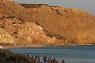 spiaggia di chivadolimni sull'isola di milos