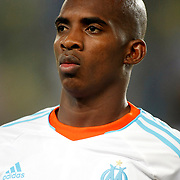 Marseille's Charles Kabore during their UEFA Europa League Group Stage Group C soccer match Fenerbahce between Marseille at Sukru Saracaoglu stadium in Istanbul Turkey on Thursday 20 September 2012. Photo by TURKPIX
