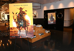 HOLLYWOOD, CALIFORNIA - July 1: View of atmosphere during  The Forever Purge early screening hosted by Chiquis Rivera at Neuehouse Hollywood on July 01, 2021 in Hollywood, California, United States (Photo by Jc Olivera / Universal Pictures)
