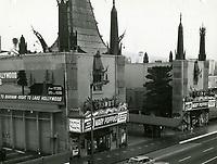1964 Grauman's Chinese Theatre