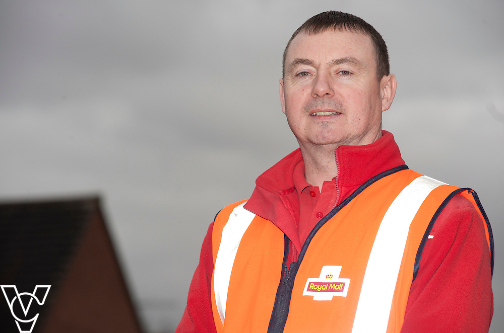 A Nottinghamshire postman came to the rescue of an elderly woman who was victim to scam mail has received an award from Trading Standards for his efforts.<br /> <br /> James Clarke-Hogg, pictured, from Gaisdale Parkway delivery office, has been working for the business for nearly 30 years and could see all the signs when he was delivering excessive amounts of mail to Rena Barker at her warden-aided flat complex.<br /> <br /> Date: January 26, 2015