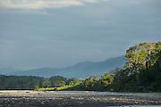 The Alto Madre de Dios River, Manu National Park, Peru, South America