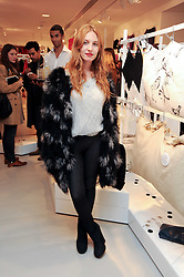 JOSEPHINE DE LA BAUME at the H&M Home Launch held at 174-176 Oxford Street, London W1 on 2nd November 2010.