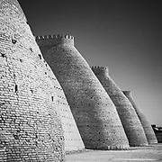 Walls of Bukhara Fort