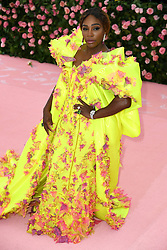 """Serena Williams at the 2019 Costume Institute Benefit Gala celebrating the opening of """"Camp: Notes on Fashion"""".<br />(The Metropolitan Museum of Art, NYC)"""