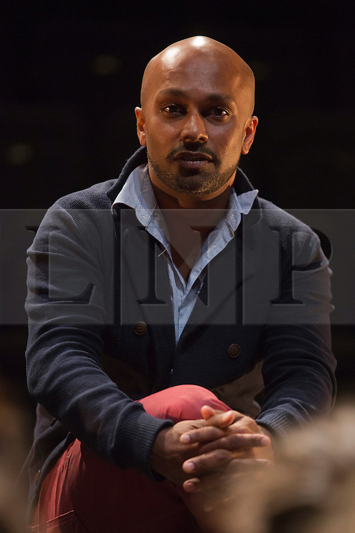 © Licensed to London News Pictures. 2 September 2013. London, England. Pictured: Akram Khan. Akram Khan takes over from Jasmin Vardimon as the next guest artistic director the National Youth Dance Company (NYDC). Photo credit: Bettina Strenske/LNP
