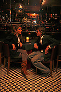 Rose Langley and Archie Soames, Spring party at Frankie Dettori's bar and Grill. 3 Yeoman's Row. London sw3. 10 April 2006. ONE TIME USE ONLY - DO NOT ARCHIVE  © Copyright Photograph by Dafydd Jones 66 Stockwell Park Rd. London SW9 0DA Tel 020 7733 0108 www.dafjones.com