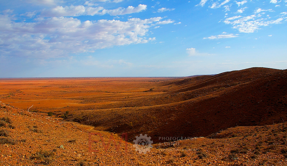 Outback plains.<br /> <br /> Larger JPEG + TIFF images available by contacting use through our contact page at :..www.photography4business.com