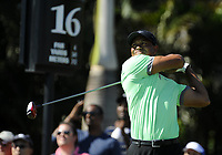 Golf<br /> Foto: imago/Digitalsport<br /> NORWAY ONLY<br /> <br /> 08 March 2014: Tiger Woods tees off during the third round of the World Golf Championships-Cadillac Championship on the Blue Monster course at the Trump National Doral in Doral, FL.