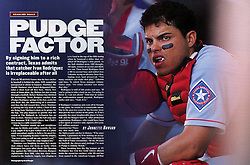 Pudge Rodriguez, Sports Illustrated, 1997