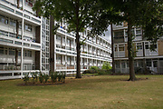Loughborough Estate on 3rd August 2016 in the London Borough of Lambeth, London, United Kingdom.