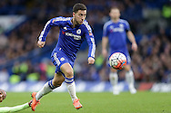 Eden Hazard of Chelsea in action.The Emirates FA Cup, 5th round match, Chelsea v Manchester city at Stamford Bridge in London on Sunday 21st Feb 2016.<br /> pic by John Patrick Fletcher, Andrew Orchard sports photography.