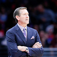 08 December 2014: Phoenix Suns head coach Jeff Hornacek is seen during the Los Angeles Clippers 121-120 overtime victory over the Phoenix Suns, at the Staples Center, Los Angeles, California, USA.
