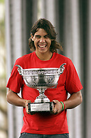 Tennis<br /> French Open<br /> 06.06.2005<br /> Foto: imago/Digitalsport<br /> NORWAY ONLY<br /> <br /> French Open Sieger Rafael Nadal - Spania