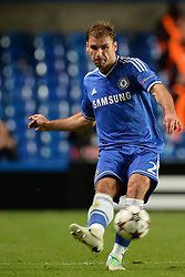18.09.2013, Stamford Bridge, London, ENG, UEFA Champions League, FC Chelsea vs FC Basel, Gruppe E, im Bild Chelsea's Branislav Ivanovic  during UEFA Champions League group E match between FC Chelsea and FC Basel at the Stamford Bridge, London, United Kingdom on 2013/09/18. EXPA Pictures © 2013, PhotoCredit: EXPA/ Mitchell Gunn <br /> <br /> ***** ATTENTION - OUT OF GBR *****
