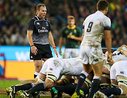 Referee:Glen Jackson (New Zealand)- Mandatory by-line: Steve Haag/JMP - 23/06/2018 - RUGBY - DHL Newlands Stadium - Cape Town, South Africa - South Africa v England 3rd Test Match, South Africa Tour