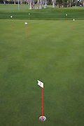 practice putting holes on a golf course