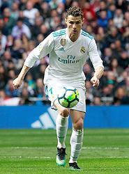 Real Madrid's Cristiano Ronaldo during La Liga match. April 8,2018. Madrid, Spain, on April 08, 2018. Photo by Acero/AlterPhotos/ABACAPRESS.COM