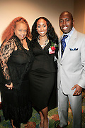 Flo Anthony, Michelle Murray and Darryl L. Dye at The Network Journal 40 under Forty 2008 Achievement Awards held at the Crowne Plaza Hotel on June 12, 2008