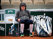 Laura Siegemund of Germany against Paula Badosa of Spain during the fourth round at the Roland Garros 2020, Grand Slam tennis tournament, on October 5, 2020 at Roland Garros stadium in Paris, France - Photo Rob Prange / Spain ProSportsImages / DPPI / ProSportsImages / DPPI