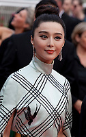 Fan Bingbing at L'amant Double gala screening at the 70th Cannes Film Festival Friday 26th May 2017, Cannes, France. Photo credit: Doreen Kennedy