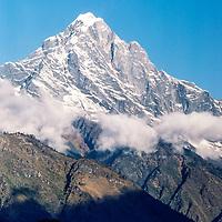A mountain in the Khumbu region of Nepal 1986.