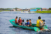 Moat Khla, Floating Fisherman Village, Tonle Sap Lake, Cambodia