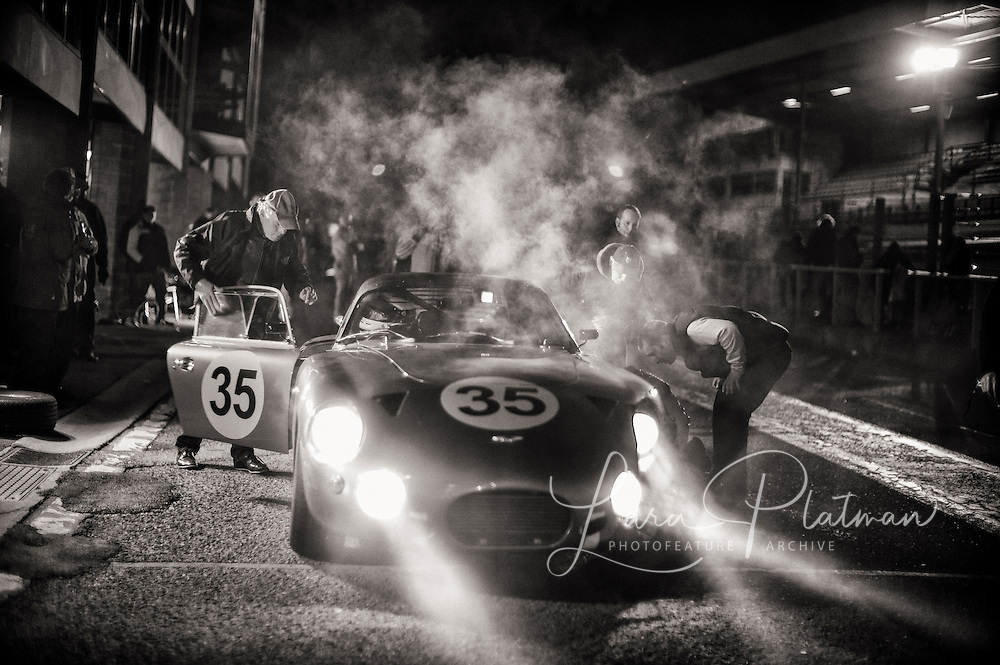 Spa 6 Hours<br /> <br /> Aston Martin at Spa 6 Hours<br /> This car had already come in for troubles and this time the engine was blowing up and it never made it back out again. It has since been rebuilt and races regularly.