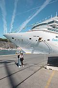 COSTA CROCIERE: selfie in front of Costa Diamante