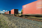 Freight Train. Outback NSW, Australia