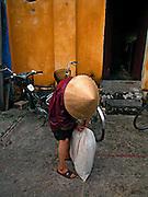Vietnam, Hoi An:old woman.