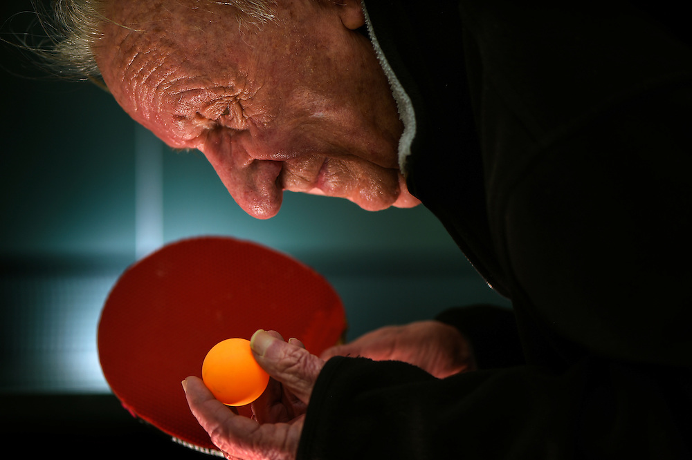 Bill Guilfoil, 93, of Fairway, KS, traveled to North Carolina in February in an effort to qualify during open tryouts for the  USA Olympic table tennis team heading to the 2016 Rio de Janeiro Summer Olympic Games.