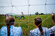 The youth are allowed two recreation nights a week. During the summer they play softball in a cow pasture followed by a game volleyball. In the winter they play basketball in barns or equipment sheds. The other night of recreation is a Sunday night hymn sing in a church member's home. Old Order Mennonites are a branch of the Mennonite church. It is a term that is often used to refer to those groups of Mennonites who practice a lifestyle without some elements of modern technology.
