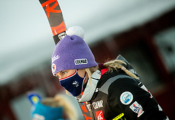 Tessa Worley (FRA) during 2nd Run of Ladies' Giant Slalom at 57th Golden Fox event at Audi FIS Ski World Cup 2020/21, on January 16, 2021 in Podkoren, Kranjska Gora, Slovenia. Photo by Vid Ponikvar / Sportida