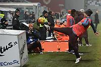 Francesco Totti gioca con un raccattapalle. Francesco Totti plays with a ball boy <br /> Reggio Emilia 02-02-2016 Mapei Stadium Football Calcio Serie A 2015/2016 Sassuolo - Roma .<br /> Foto Image Sport/Insidefoto