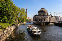 Berlin, Germany. The Bode Museum was completed in 1904. After restoration it was reopened in 2006 and home to a large sculpture collection and other arts.