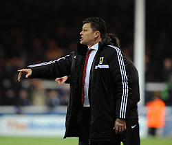 Bristol City manager, Steve Cotterill - Photo mandatory by-line: Dougie Allward/JMP - Mobile: 07966 386802 11/03/2014 - SPORT - FOOTBALL - Peterborough - London Road Stadium - Peterborough United v Bristol City - Sky Bet League One