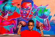 USA-Colorado-Denver-A Boy and His Mural