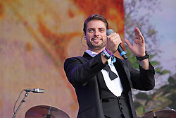 © Licensed to London News Pictures. 13/07/2014, UK. Keith Duffy. Boyzone, play British Summer Time at Hyde Park, London UK, 13 July 2014. Photo credit : Brett D. Cove/Piqtured/LNP