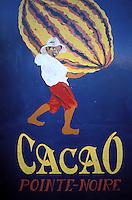 France - Département d'Outre mer de la Guadeloupe (DOM) - Basse Terre / Pointe Noir - La maison du cacao