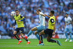 Ruben Lameiras of Coventry City under pressure - Photo mandatory by-line: Jason Brown/JMP -  02/04//2017 - SPORT - Football - London - Wembley Stadium - Coventry City v Oxford United - Checkatrade Trophy Final