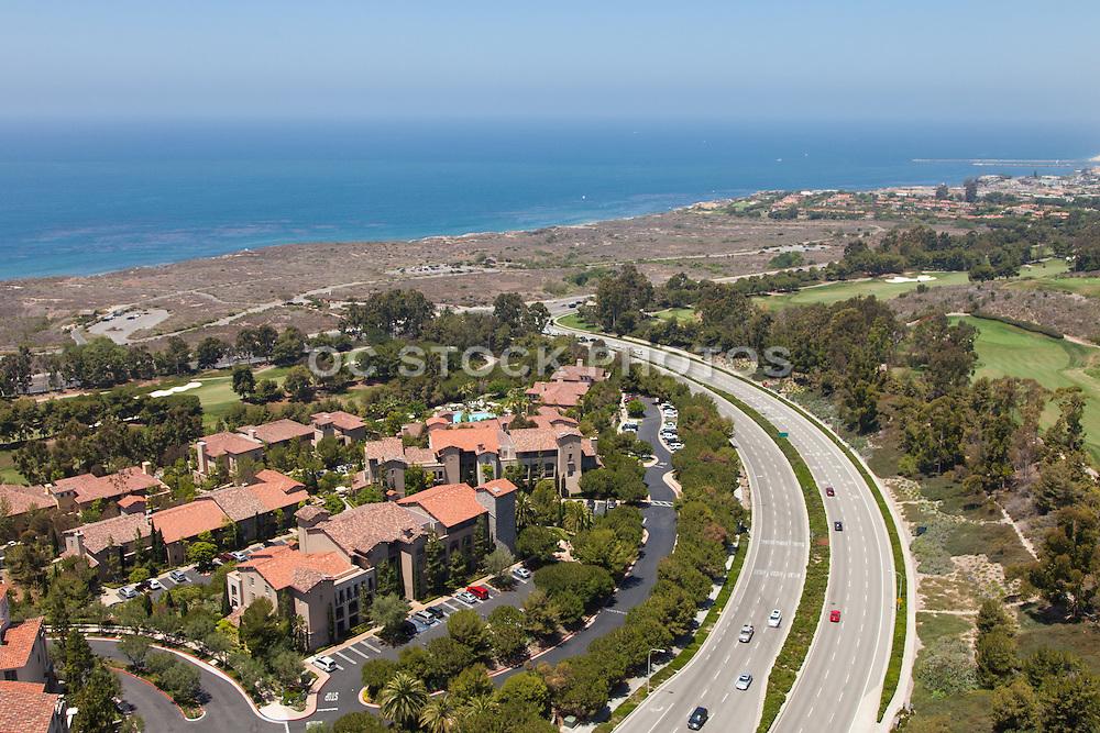 Aerial View of Newport Coast California